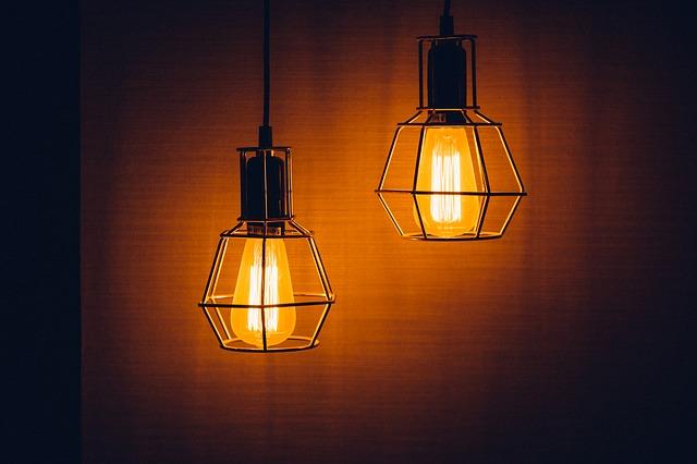 záře lamp