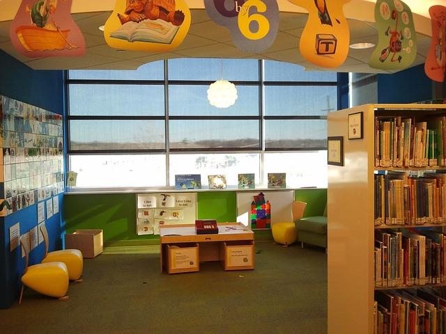 knihovna pro děti