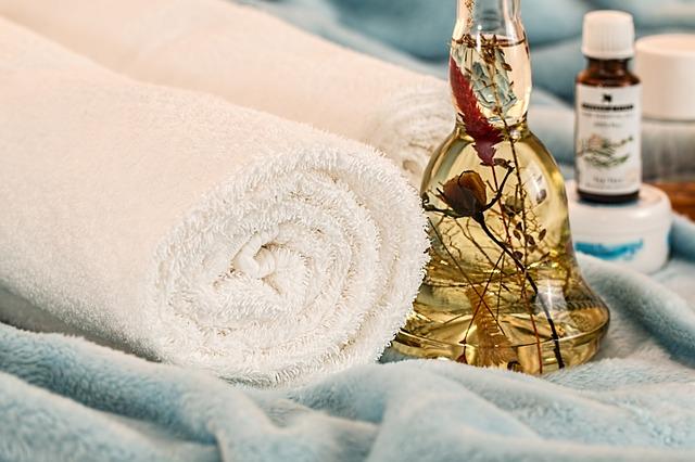 ručníky a olejíček